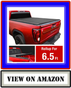 MaxMate Soft Roll Up Truck Bed Tonneau Cover for 2014-2019 Chevy Silverado/GMC Sierra 1500